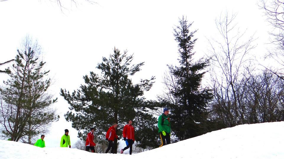 trail  ligne ronde