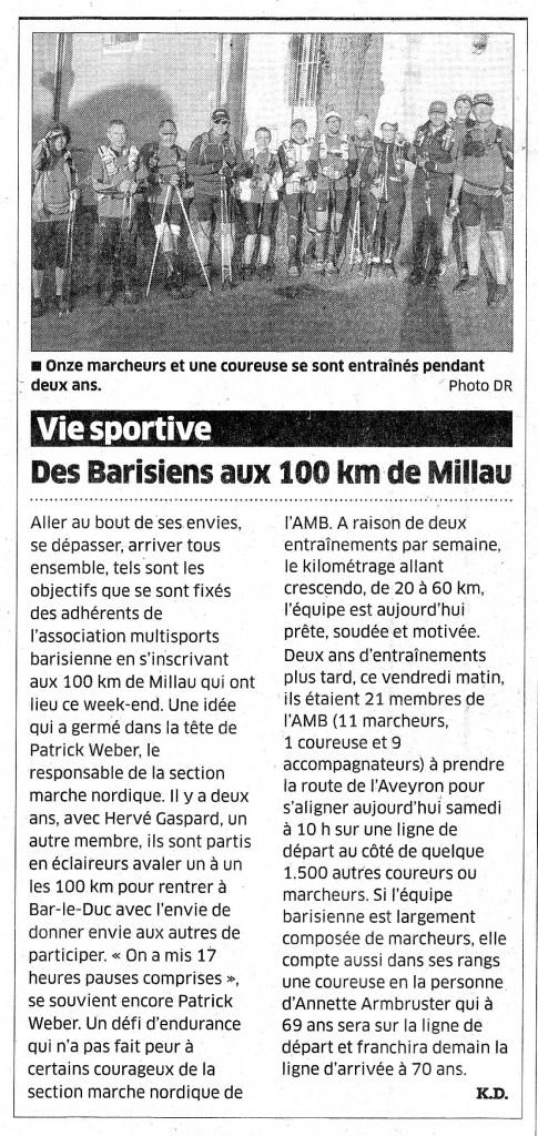 article 100km Millau 2015