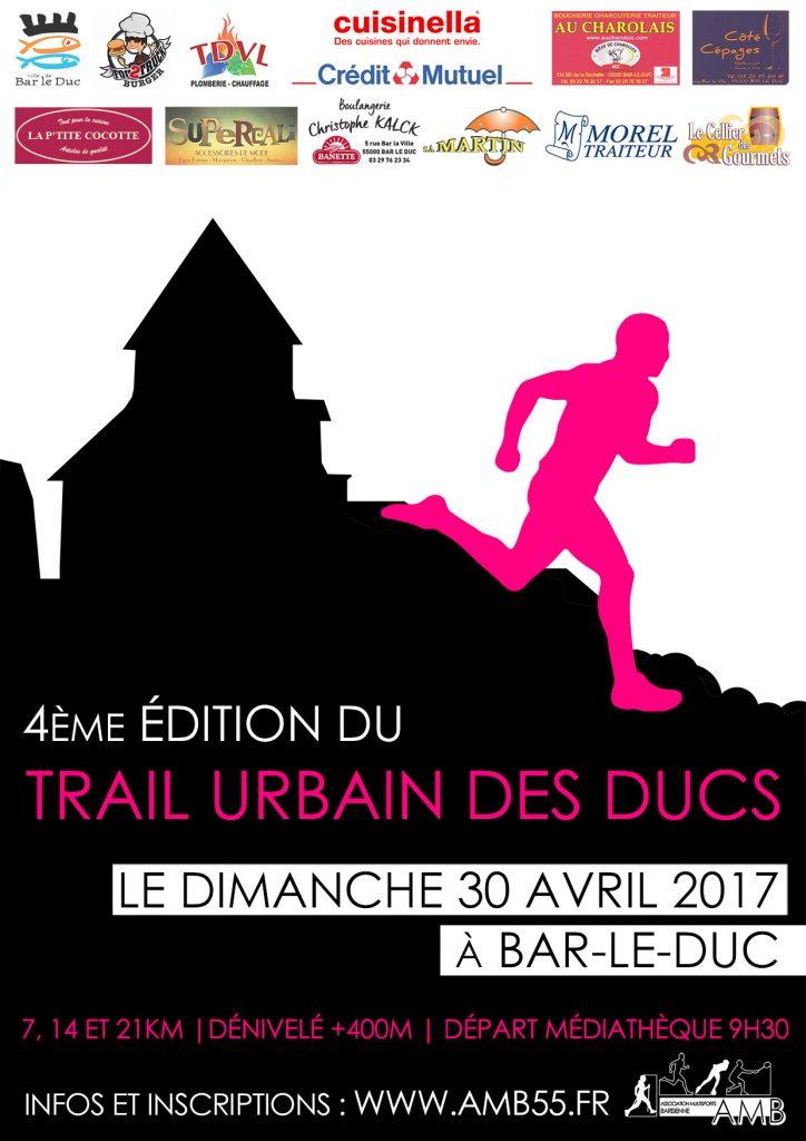 Affiche Trail 2017 A4